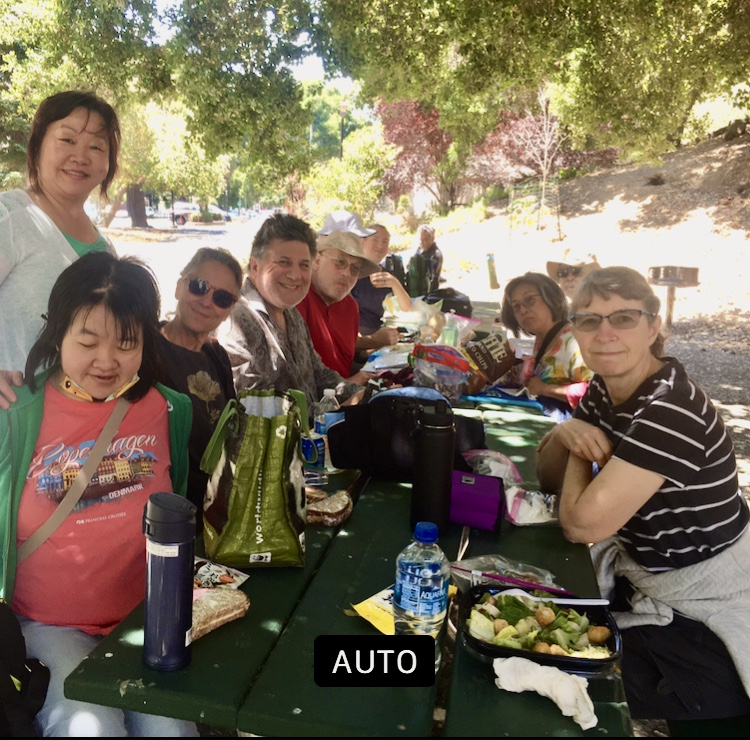 July 27, 2021-Picnic after playing